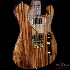 Suhr Custom Classic T Singe Pod Prototype - Guitare Wild West Telecaster Guitar, Wild West, Monkey, Board, Classic, Music, Design, Guitars, Derby