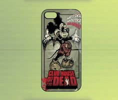 Mickey Zombie Case For iPhone 4/4S, iPhone 5/5S/5C, Samsung Galaxy S2/S3/S4, Blackberry Z10