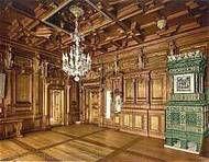 Stube at  Pestalozzi Palace in Chiavenna (Sondrio) Lombardy  North Italy                     Coordinate 46°19′N 9°24′E Altitudine 333 m s.l.m  http://www.clavenna.it/