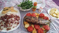 Iranian food- ماهی شکم پر
