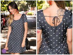 Sobre um vestido pra lá de charmoso! #Vemprazas