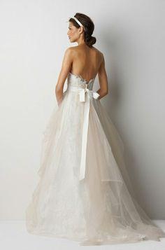 romantic-open-back-wedding-dress — Wedding Ideas, Wedding Trends, and Wedding Galleries