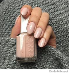 essie spin the bottle … love love love this color! Have it on my nails right… essie spin the bottle … love love love this color! Have it on my nails right now and I need to find it to buy Neutral Nails, Nude Nails, Pink Nails, Gel Nails, Manicures, Coffin Nails, Acrylic Nails, Essie Nail Polish, Nail Polish Colors