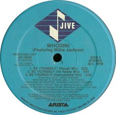 Whodini feat. Millie Jackson on vinyl. Buy it in robxrecords.it
