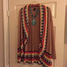 Si Style Brown Sweater Small (New) - Mercari: Anyone can buy & sell