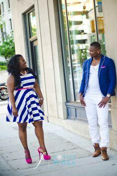 "Chrystol + Jason ""Caribbean City Love"" E-session | Glenn Hotel Sky Lounge | Undergroud Atlanta | Atlanta Wedding Photographers - Fotos by Fola Blog | Atlanta Wedding Photographers"