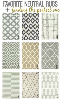 Favorite Neutral Rug