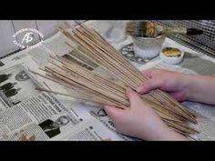 От качества трубочек зависит красота и легкость плетения. Очень полезный мастер класс Алены Бугровой. Paper Basket Weaving, Straw Weaving, Willow Weaving, Recycled Paper Crafts, Twine Crafts, Recycled Magazines, Diy Crafts Magazine, Plastic Canvas Stitches, Newspaper Basket