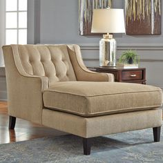 Complete your parlor or den ensemble with this essential chaise, perfect for extra guest seating or lounging with a Sunday-morning cappuccino.