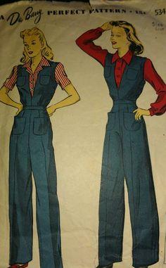Vintage Outfits, Vintage Wardrobe, Vintage Pants, Retro Outfits, Vintage Dresses, Vintage Mode, Look Vintage, Vintage Sewing Patterns, Clothing Patterns