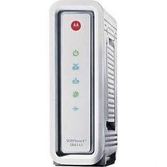 Motorola SURFboard SB6141 Cable Modem Check out more geek stuff at www.geekgenesis.com, a place for geek