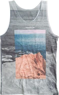 25% Off Men's Tanks and Surf Tees at Swell http://www.swell.com/Photo-Graphic/EZEKIEL-LOOKOUT-TANK?cs=CH