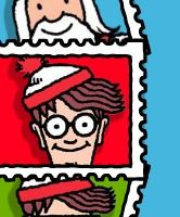 where's waldo site - free - make avatar place into a waldo scene and then send off for a friend to find