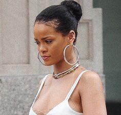 for da culture. Beautiful Mind, Black Is Beautiful, Big Earrings, Hoop Earrings, Rihanna Diamonds, Bad Gal, Black Girl Aesthetic, Rihanna Fenty, Piercings