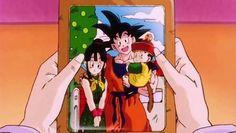 Dragon Ball z - Gohan. Goku and Chi Chi Dragon Ball Gt, Dragon Art, Sailor Saturno, Gohan And Goten, Manga Anime, Anime Art, Hotarubi No Mori, Popular Manga, Anime Store