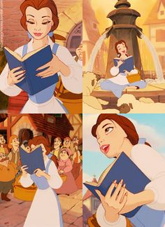 Day 2: Belle is my favorite princess❤️❤️❤️ I can relate to the way she can fully submerse herself in a book and how even when trying to rule with the logic of her head she fell In love with a beast. Beauty is in the eye of the beholder.