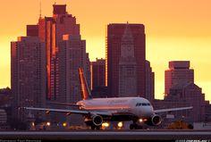 Airbus A320-232 @ Boston, General Edward Lawrence Logan International Airport