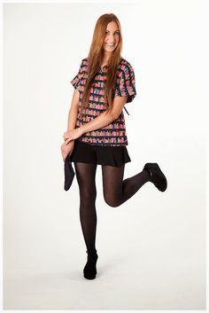 Top algodón estampado Punk, Beauty, Style, Fashion, Printed Cotton, Beleza, Moda, La Mode, Cosmetology