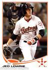 2013 Topps Series 1  Jed Lowrie Card #104  Houston Astros