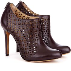 Sole Society Zaily laser cut bootie
