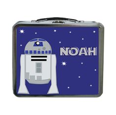 R2D2 Personalized Lunch Box by sassyalice on Etsy, $29.99