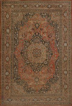 Matt Camron Rugs & Tapestries Antique Persian Tabriz Hajalil Rug