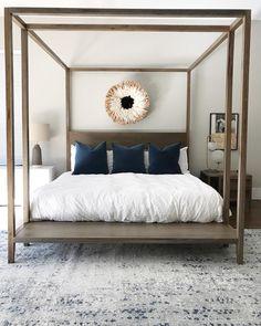 West Elm bedroom des
