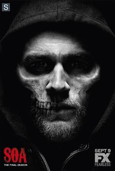 Sons of Anarchy Season 7. It's becoming very clear that all the good that was left in Jax is gone. He's running on fury & vengeance.