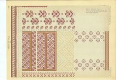 Palestinian Embroidery, Traditional Outfits, Folk Art, Stitch Patterns, Diy And Crafts, Cross Stitch, Diagram, Sewing, Knitting