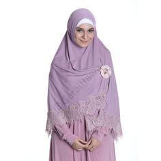 This is sweet,lovely lacey khimar