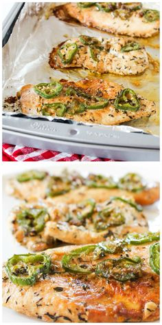 the most delicious baked jalapeno chicken in the world!!!!!!