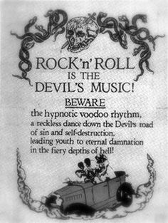 Rock 'n' Roll is the Devil's Music! Beware! , I saw this product on TV and have already lost 24 pounds! http://weightpage222.com