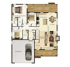 Mapleton Floor Plan: