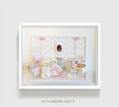 ♡ ♡  French Provincial Nursery wall decor Baby girl por LACOTEDESIGN