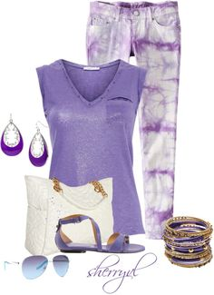 """""""Style The T-Shirt"""" by sherryvl on Polyvore"""
