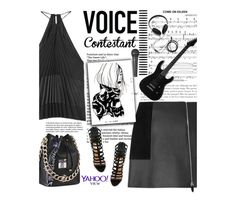 """TV Fashion: The Voice"" by amimcqueen ❤ liked on Polyvore featuring Alexander Wang, Altuzarra, Schutz, Molami, thevoice and YahooView"