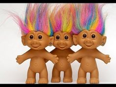 Troll dolls - these were my favourite childhood toys 90s Childhood, Childhood Memories, Best Pal, 90s Toys, Troll Dolls, 90s Nostalgia, Rainbow Hair, Back In The Day, Vintage Dolls