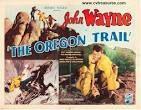 "The Oregon Trail is a 1936 American Western film starring John Wayne. The film is believed to be a lost film.  American Film Institute list cast ""John Wayne (Capt. John Delmont), Ann Rutherford (Anne Ridgeley). Directed by Scott Pembroke."
