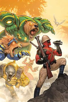 Deadpool Bi-Annual #1 by David Nakayama