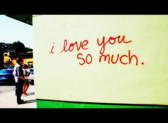 """Take an iconic Austin couples photo infront of the 'I love you so much"""" mural outside of Jo's Coffee on South Congress. A note written from the owner's girlfriend. Visit Austin, Austin Tx, Love Notes For Her, Austin Murals, Love You So Much, My Love, Miss Texas, Where The Heart Is, Love And Marriage"""