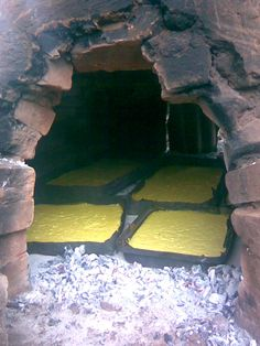 Sopa Paraguaya @ the Tatakua Oven