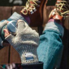 Fancy | Oatmeal Melange Fingerless Gloves
