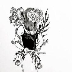 Conheça Henn Kim e suas ilustrações em P&B repletas de subjetividade