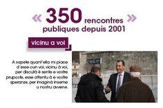 350 rencontres publiques depuis 2001
