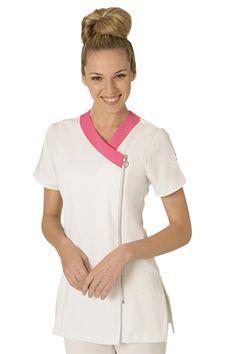 Delantales bellos Spa Uniform, Hotel Uniform, Scrubs Uniform, Dental Scrubs, Medical Scrubs, Medical Uniforms, Work Uniforms, Beauty Therapist Uniform, Scrubs Pattern
