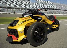 Can-Am Spyder F3 Turbocharged Concept