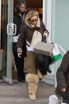 Kate Hudson spends Christmas in Aspen