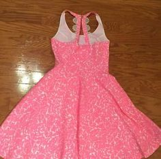 Lilly-Pulitzer-Pink-and-White-Dress-size-4