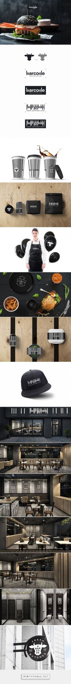 Bar Code Shop Eatery Branding by Alex Smart | Fivestar Branding Agency – Design and Branding Agency & Curated Inspiration Gallery