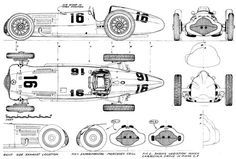 Risultati immagini per Mercedes-Benz blueprint Old Race Cars, Slot Cars, Classic Race Cars, Daimler Benz, Wooden Car, Vintage Race Car, Aircraft Design, Car Drawings, Automotive Art